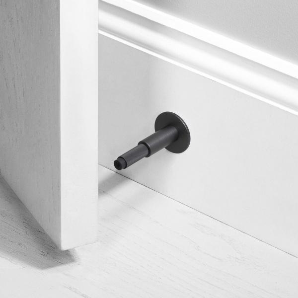 Door stopper/ Wall/ Smoked bronze
