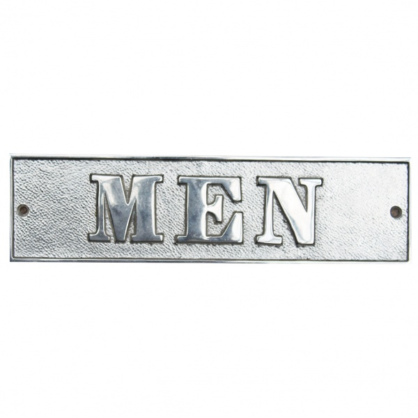 Men''s Room Sign