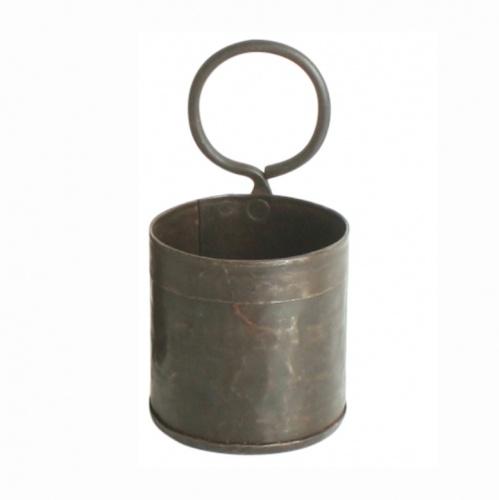 Eisenhalter / Kräutertopf Einfach