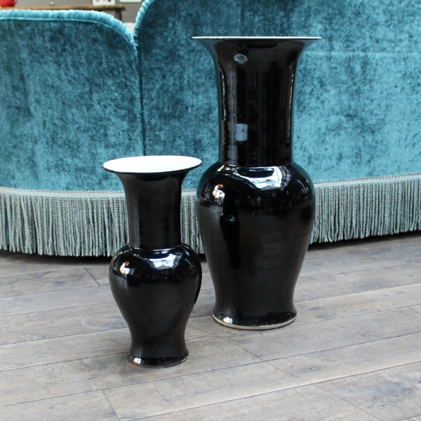 A Pair Of Yenyen Vases, Ralph Lauren Home 70cm