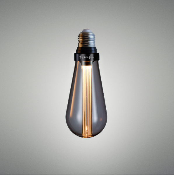 Buster Bulb / Teardrop / B 22 Dimmable / Smoke