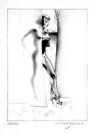 Study for Maitresse (Siebdruck), Allen Jones