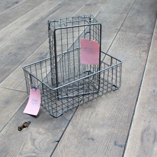 Drahtkorb rechteckig Schuhbox medium