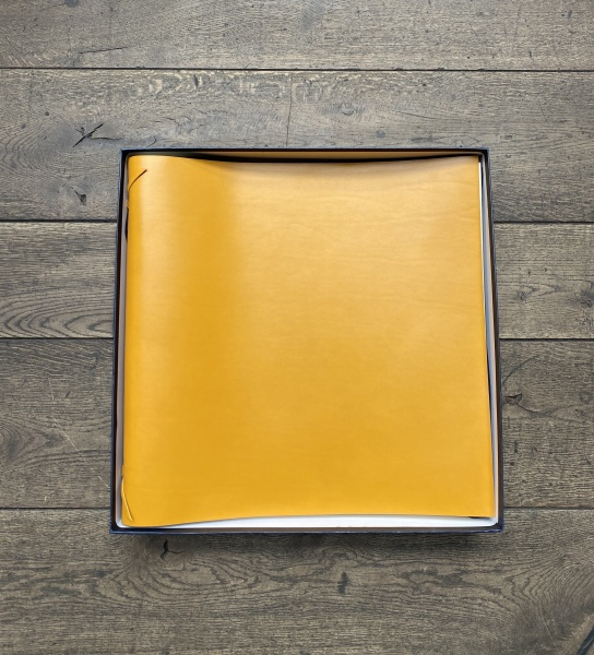 Rabitti 1969 Fotobuch Large Leder yellow