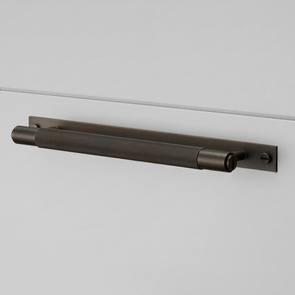 BUSTER + PUNCH - PULL BAR / PLATE / SMOKED BRONZE