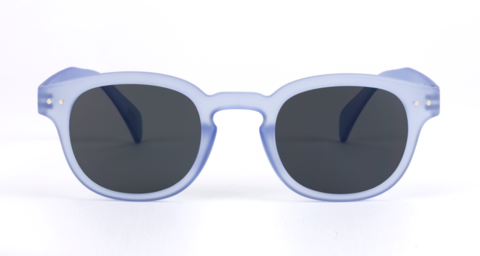 Sonnenbrille #C, Jelly Blue Soft