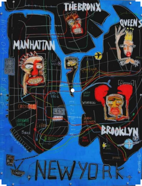 Silvia Calmejane, Map of NY