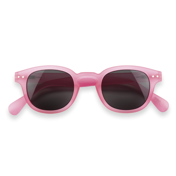 Sonnenbrille #C, jelly pink soft
