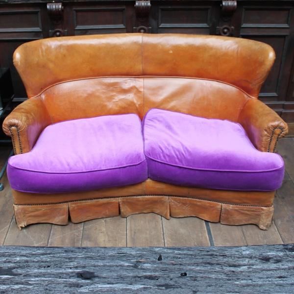 Sofa klein,Französisch, 20er Jahre