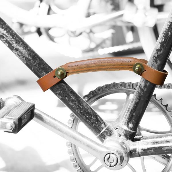 Fahrradgriff, Leder, Le Velo