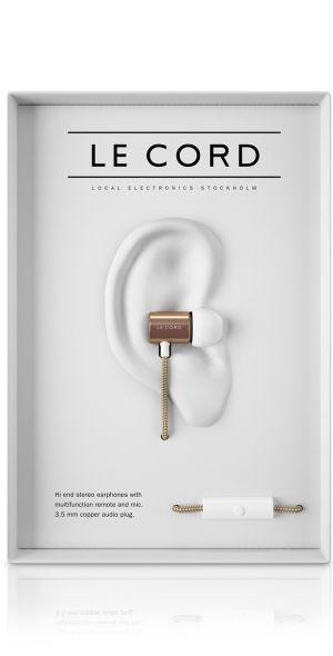 Kopfhörer GLD 01, gold