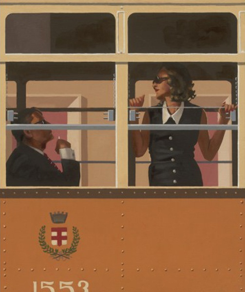 JACK VETTRIANO, The Look Of Love, 64x54 cm