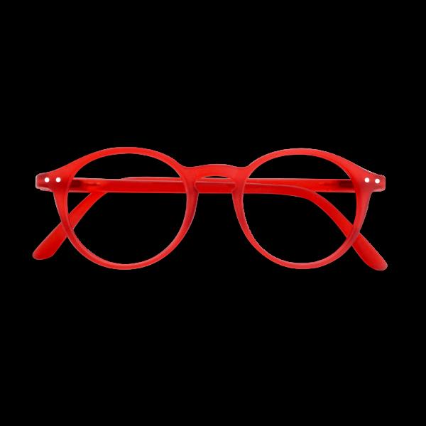 IZIPIZI Lesebrille #D, Red
