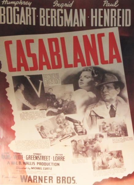 Filmplakat - Cabablanca