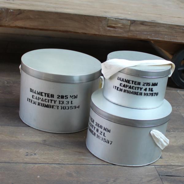 Hutbox aus Stahl