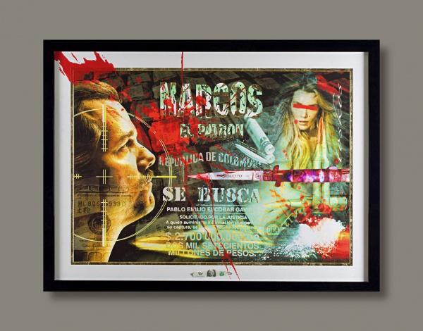 Tos Kostermans, Narcos 130cm x 90cm