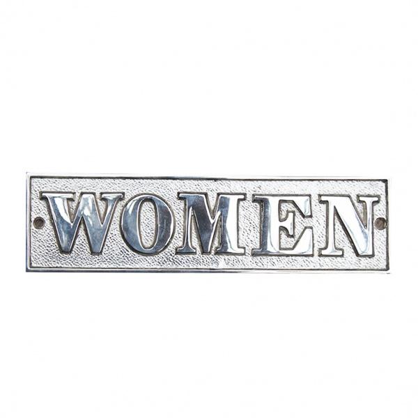 Women''s Room Sign