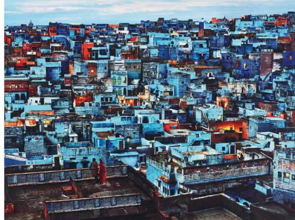 Steve McCurry, Blue City, Jodhpur, India