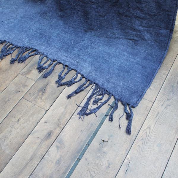 Teppich large, blau