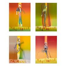 Maitresse (4 Siebdrucke mit Mappe), Allen Jones