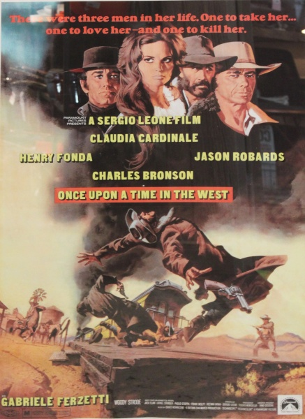 Filmplakat - Once upon a time in the west
