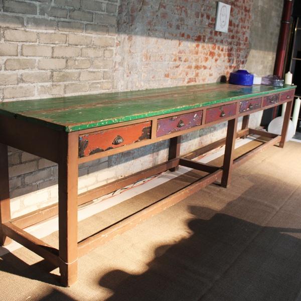 grüner Tisch aus Südafrika