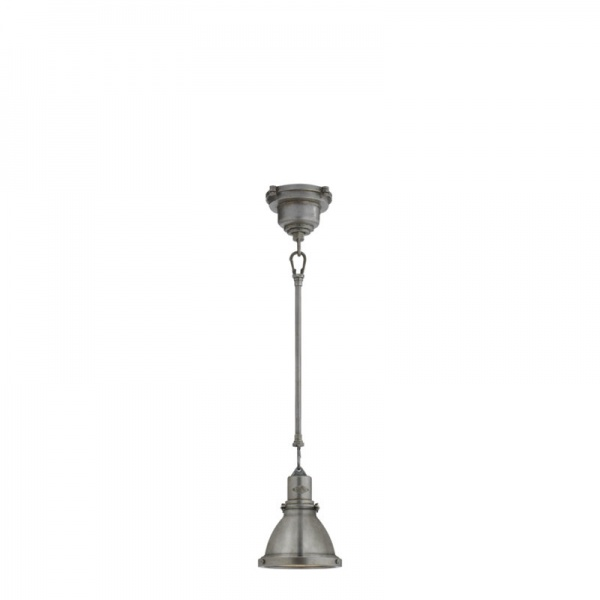 Fulton Mini Pendant in Industrial Steel Ralph Lauren Lighting