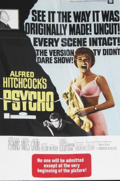 Filmplakat - Psycho