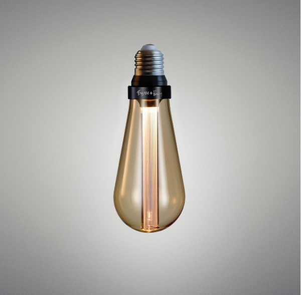 Buster Bulb / Teardrop / Dimmable Gold E 27
