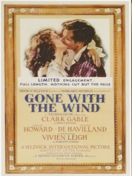 Filmplakat - Gone with the Wind