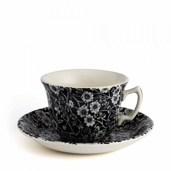 Burleigh Calico Teetasse mit Untertasse